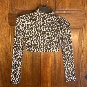 🐆NWOT!! Charlotte Russe  leopard cheetah print🐆